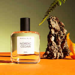 Maya Njie Nordic Cedar, £65 for 50ml EDP