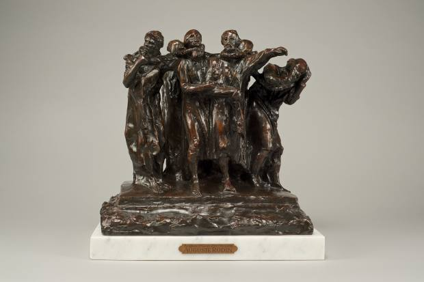Maquette for the Burghers of Calais by Rodin