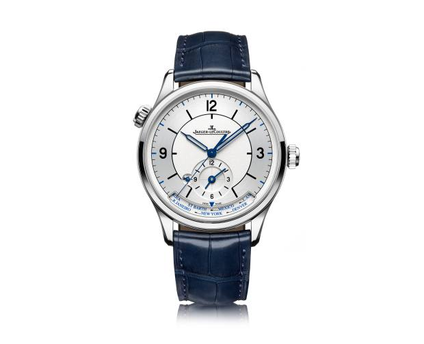 Jaeger-LeCoultre stainless-steel Master Geographic