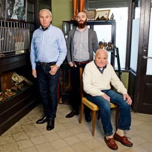 Eduardo, Germán and Rodolfo Fagliano