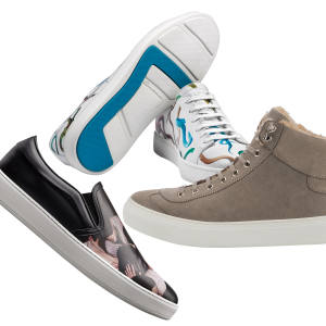 Harrys of London leather Bolt sneakers, £395
