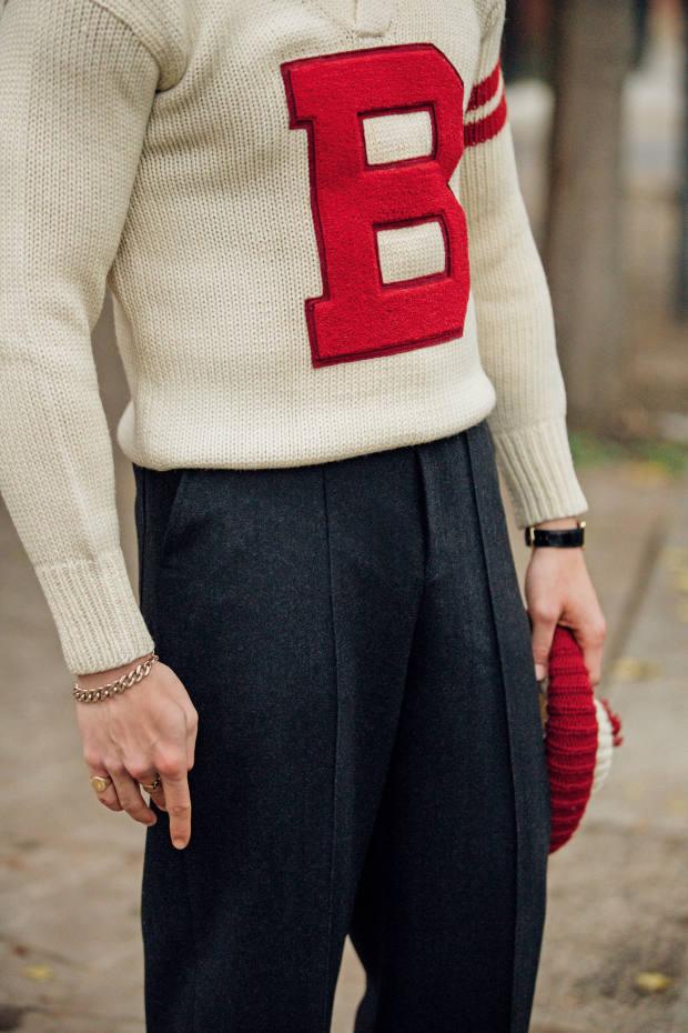 Scott Fraser Collection vintage B sweater