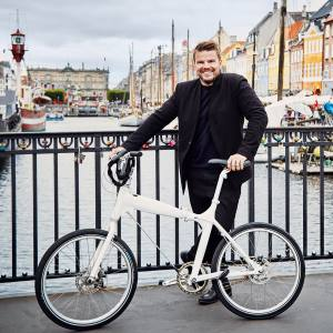 Architect Bjarke Ingels in colourful Nyhavn