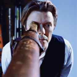 David Bowie in Markus Klinko's Seeing You from Afar portrait