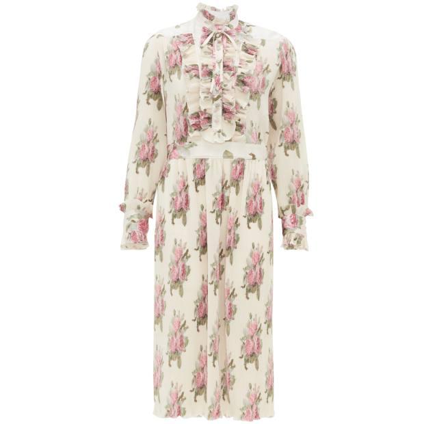 Paco Rabanne dress, £1,330, from matchesfashion.com