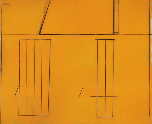 Open No. 97: The Spanish House (1969), by Robert Motherwell