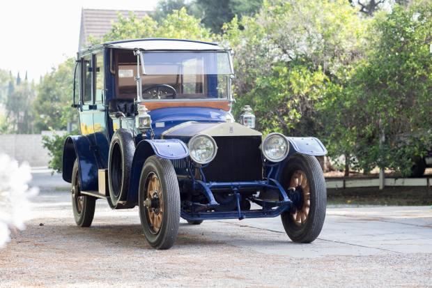 1912 Rolls-Royce landaulette, estimate $450,000-$600,000