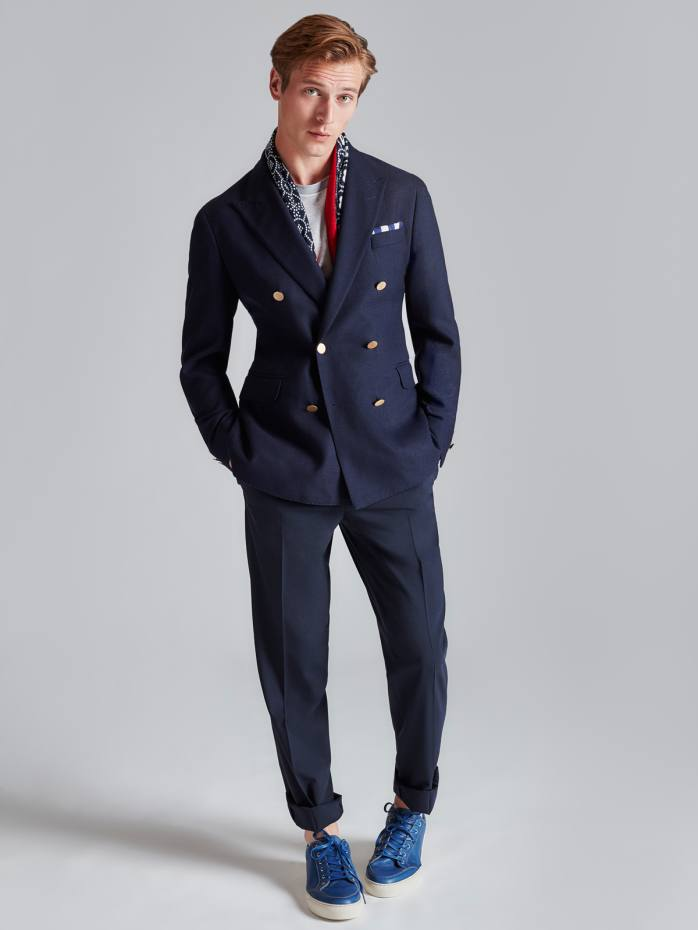Hackett wool blazer, £475