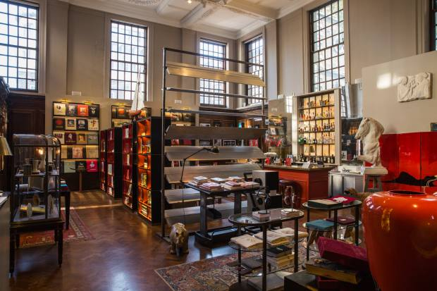Maison Assouline is housed in a handsome 1922 Edward Lutyens-designed building on Piccadilly