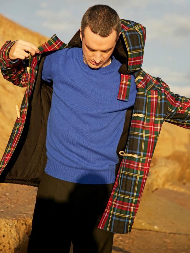 Gloverall wool duffel coat, £610