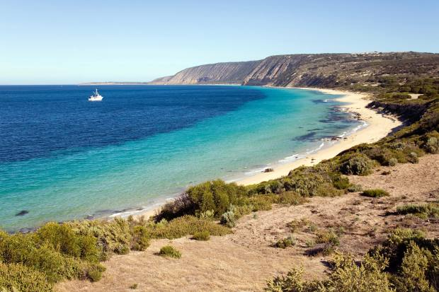 The remote Thistle Island, located off the coast of South Australia, offers incredible fishing and breathtaking scenery