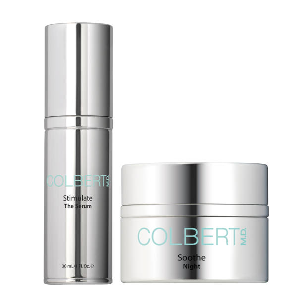 Colbert MD Stimulate The Serum, £115 for 30ml. Soothe Night cream, £125 for 30ml