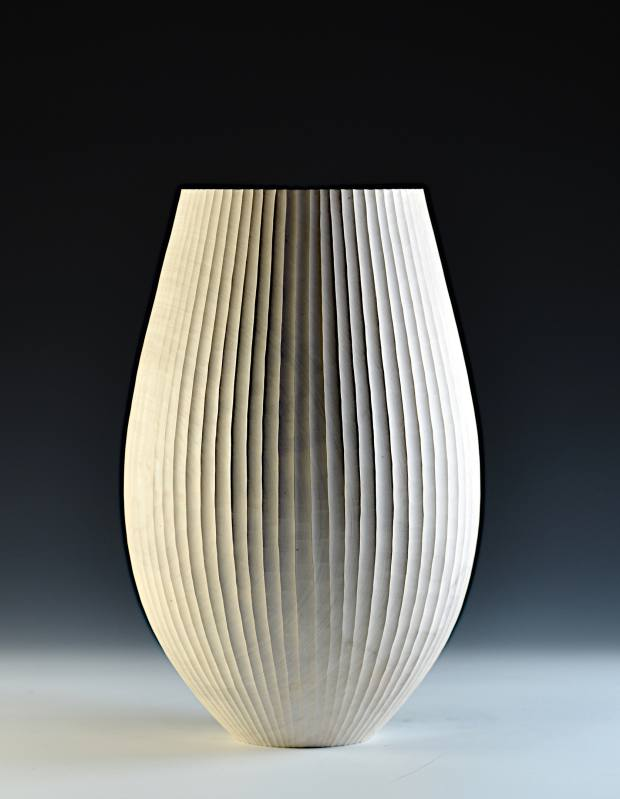 Liam Flynn sycamore Fluted vessel, €3,100
