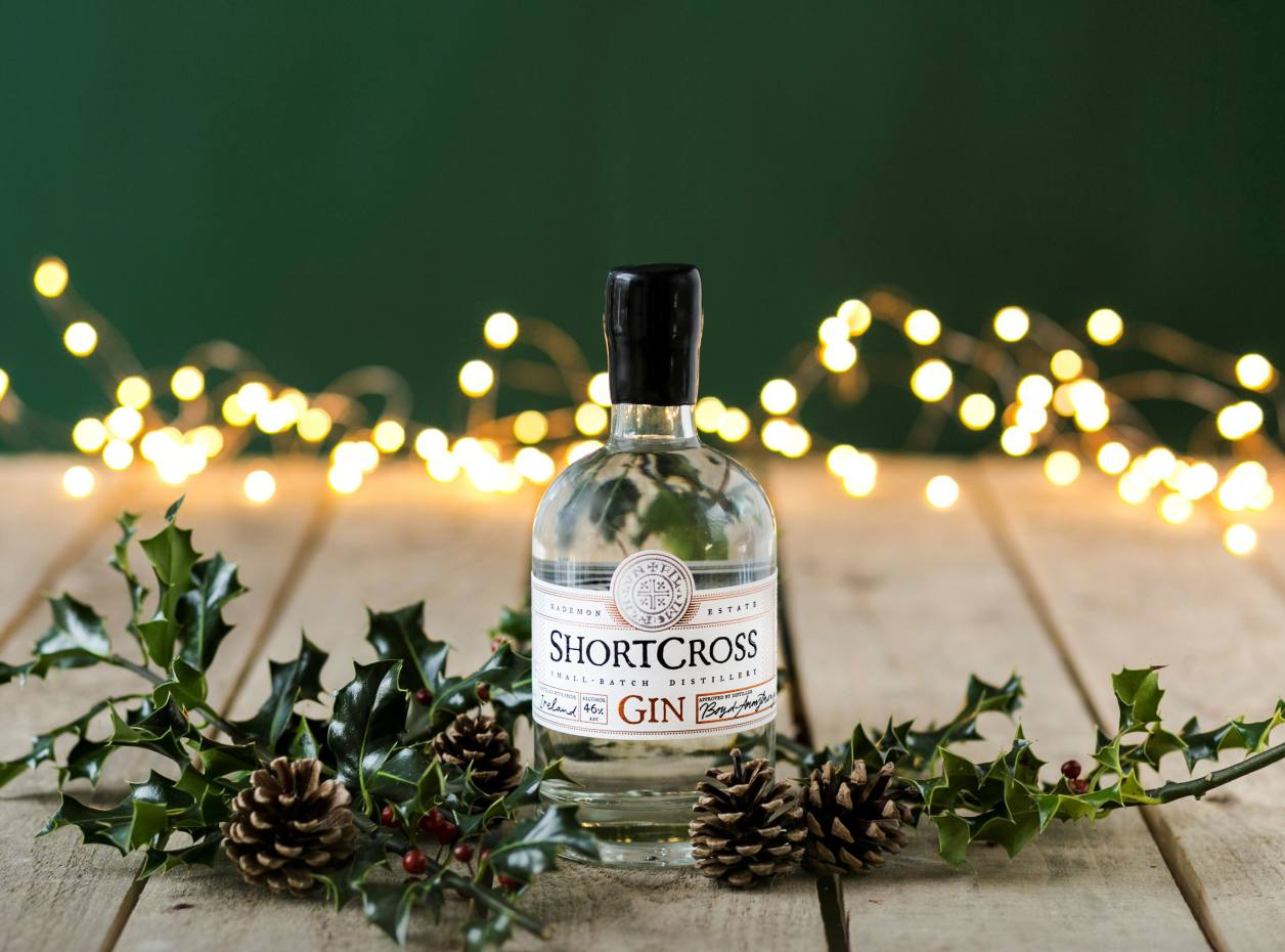 Shortcross is a classic gin with a heavenly floral bouquet