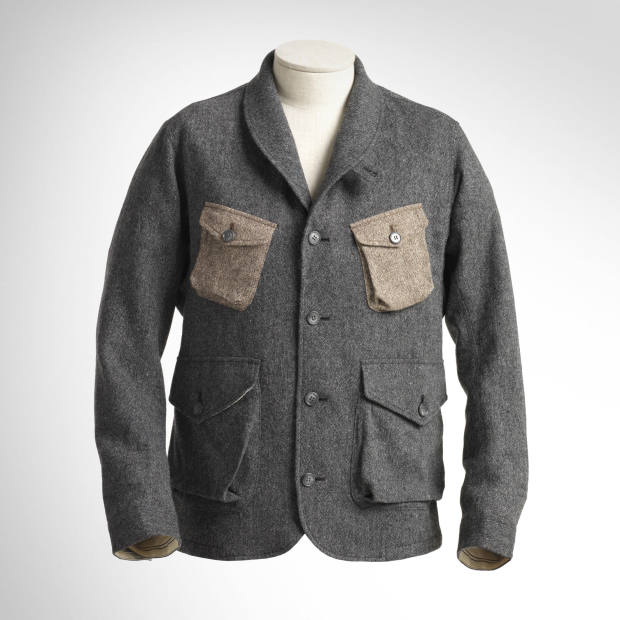 Pedaled wool/polyester Hacking jacket, £416