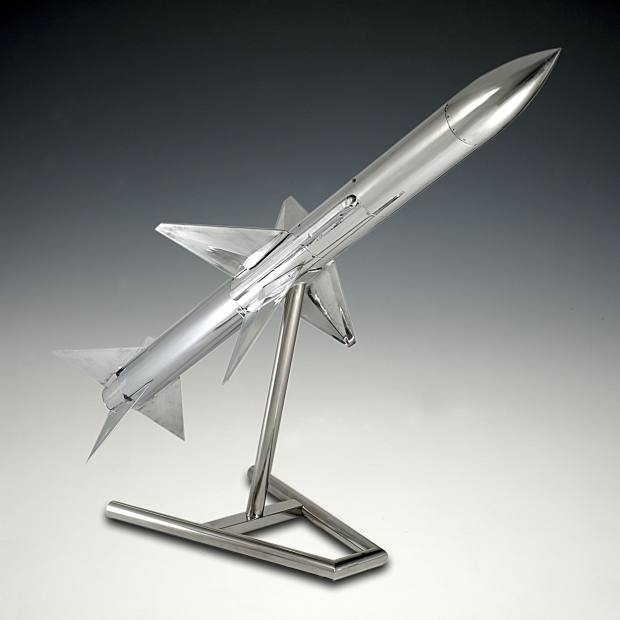 1976 Sky Flash air-to-air missile, £29,500, from the Pullman Gallery