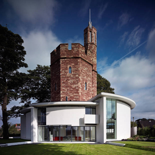 Ellis Williams Architects Lymm Water Tower in Cheshire