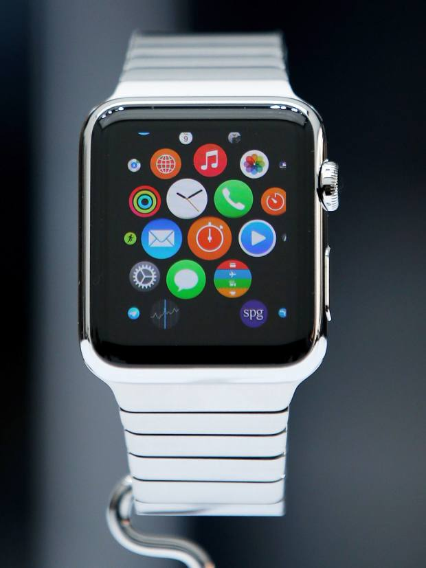 2014: The Apple smartwatch is unveiled