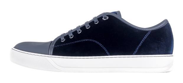 Lanvin velvet low-top sneakers, £350