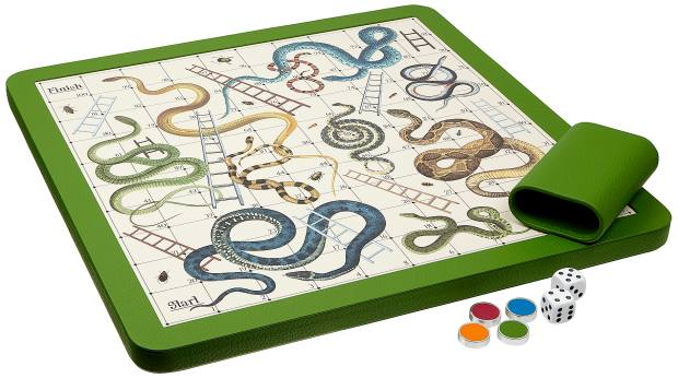 William & Son Snakes and Ladders board, £545
