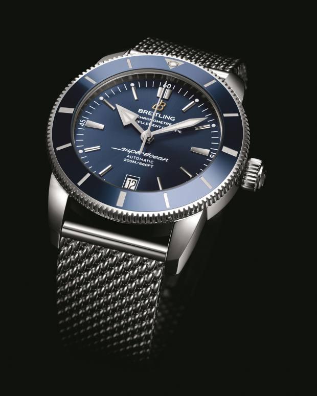 Breitling steel SuperOcean Héritage II, £3,990