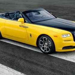 This Rolls-Royce Black Badge Dawn was built for Google executive Benjamin TreynorSloss