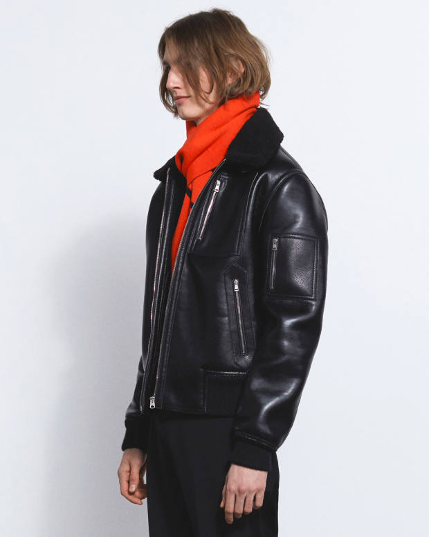 "Stella McCartney ""alter-nappa""/recycled polyester Liam blouson, £865"