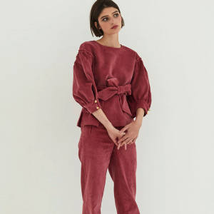 Anna Mason cord blouse, £380