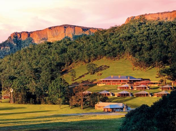 Emirates One&Only's Wolgan Valley resort in Australia's Greater Blue Mountains