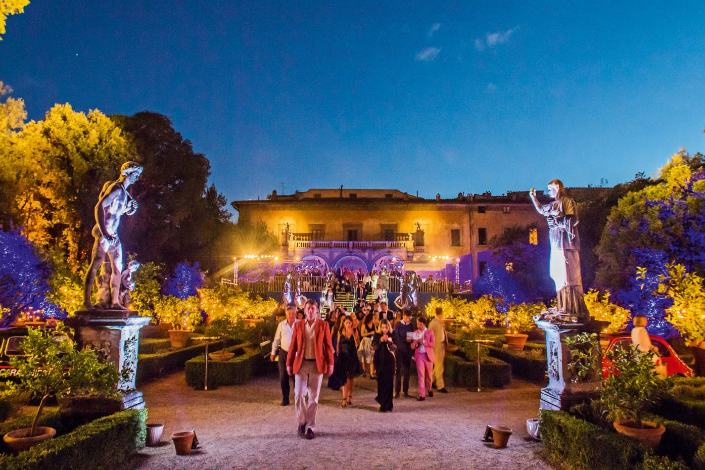 The New Generation Festival, now in its second year, takes place in the gardens of Palazzo Corsini al Prato, Florence