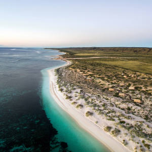 The beachside tented camp of Sal Salis, Ningaloo