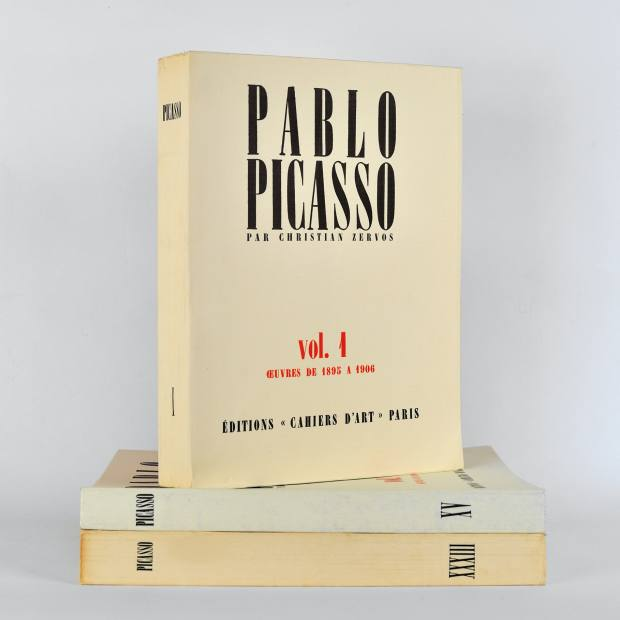 The 33-volume Pablo Picasso by Christian Zervos, $20,000 at Sotheby's