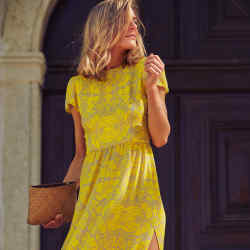 Valle+Vik silk-georgette The Prim One dress, from £385