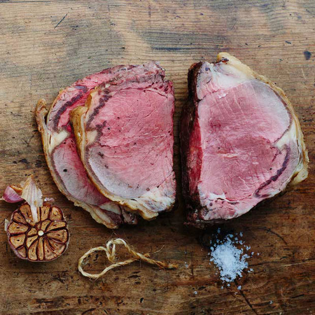 John Gilmour's beef has superior fat covering and marbling