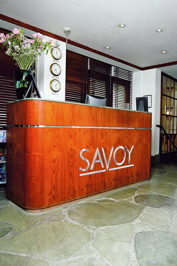 A serving counter from The Savoy was sold at auction in 2007 after a 12-way bidding war