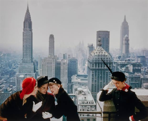 Young Velvets, Young Prices, Hat Fashions by Norman Parkinson for British Vogue, $3,000-$5,000