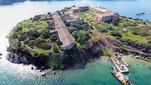 The new Hauser & Wirth gallery on Illa del Rei