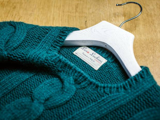 Licia Luchini knitwear ranges from €450 to €1,450