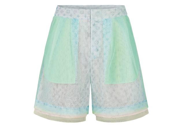 Louis Vuitton tulle shorts, £1,550