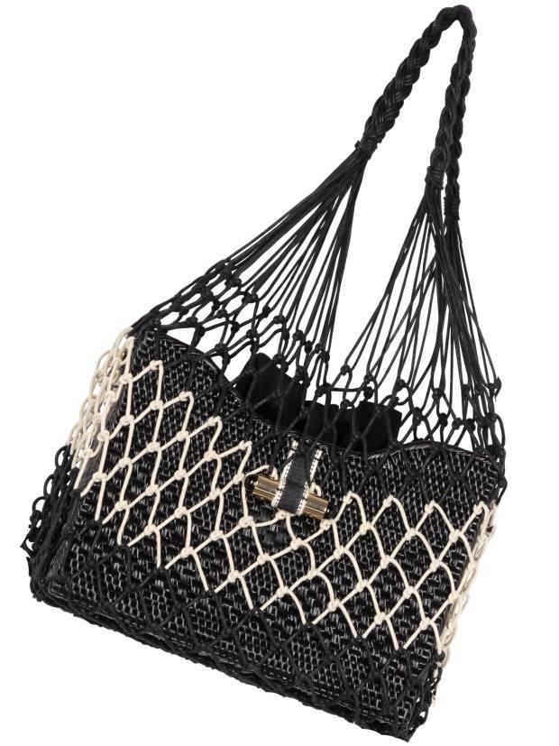 Stelar Madura string basket bag, £245