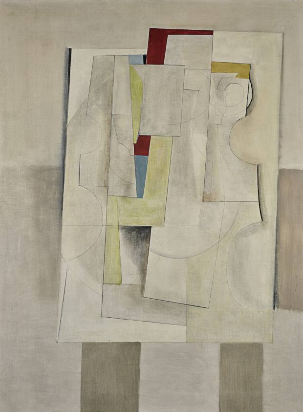 Dec 15–49 – Still-Life (Blue), 1949, by Ben Nicholson, estimate £800,000-£1.2m