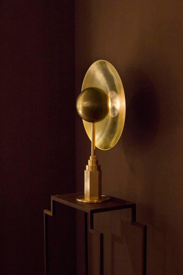 Jan Garncarek DesignMetropolis table lamp, €6,280