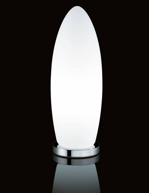 Norman Foster's Gherkin lamp in Murano glass (30cm, £260; 60cm, £446) echoes his landmark design for 30 St Mary Axe in London.