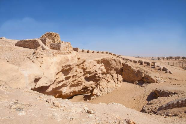 Shisr, thesite of the so-called Atlantis of the Sands
