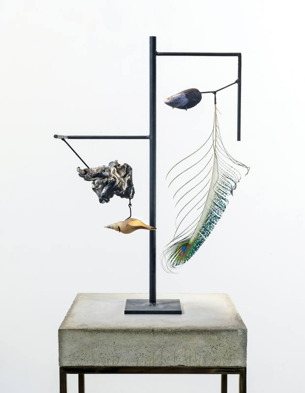 Mussel Shell sculpture by Carol Bove, price on request