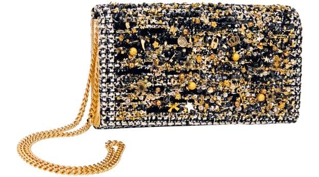 Preciously Paris cotton-mix Crillon clutch, €2,875