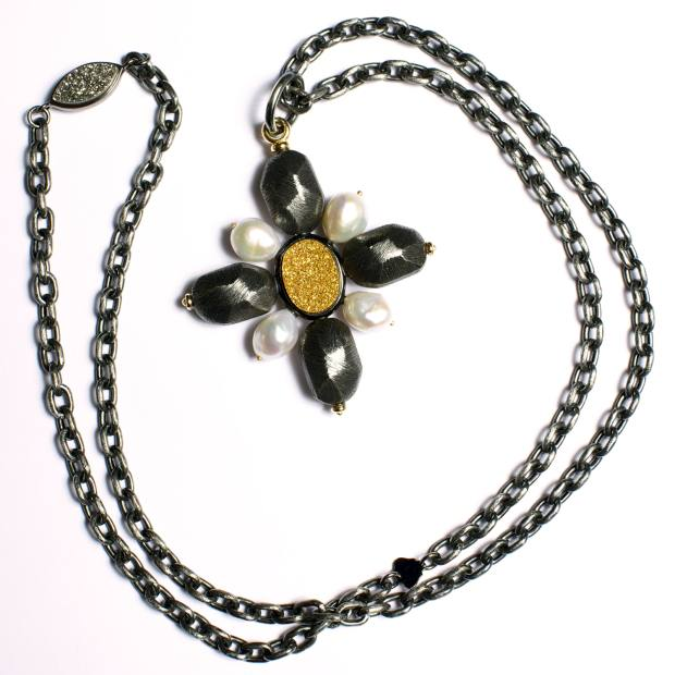 Linda Fargo's pendant from Grazia & Marica Vozza