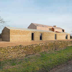The Long House, a barn conversion in  the Cotswolds