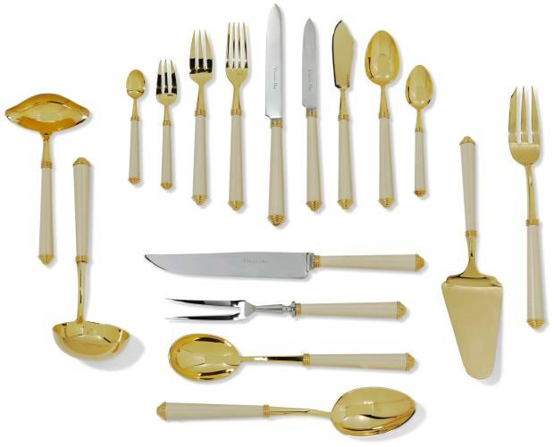 Christian Dior flatware service, sold at Christie's for £6,000