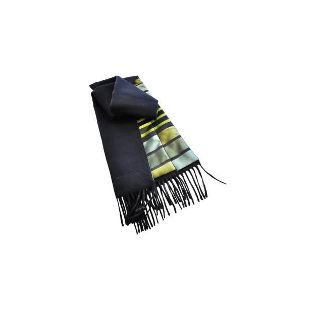 Fabric Frontline Zurich silk/cashmere scarf, about £527.